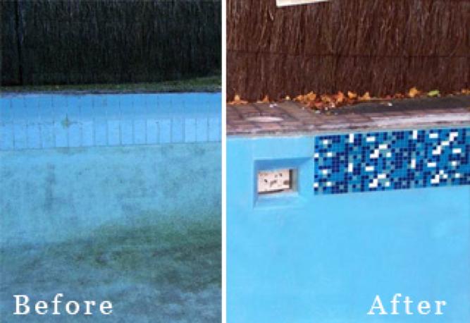 Pool renovators ceramic pool tiles Perth